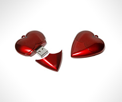 Heart FlashDrives thumbnail