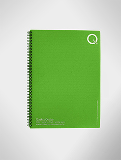 Recycled Polypropylene A4 Wireo bound Notebooks thumbnail