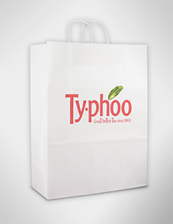 Full Colour Digital Print Sustainable Large Paper Carrier Bag thumbnail