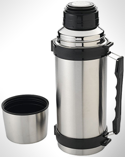Everest 1000 ml Vacuum Insulated Flask With Strap thumbnail