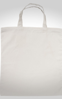 Short Handled ShoppyBag 100gm Cotton Bag thumbnail