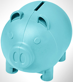 Oink Small Piggy Bank thumbnail