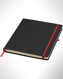 Noir Large Notebook With Lined Pages thumbnail