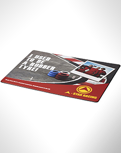 Brite-Mat Mouse Mat With Tyre Material thumbnail
