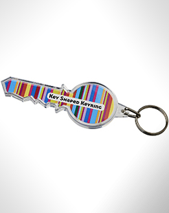 Combo Key-Shaped Keychain thumbnail