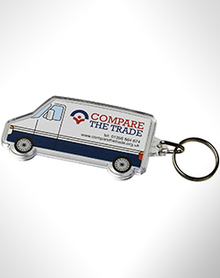 Combo Van-Shaped Keychain thumbnail