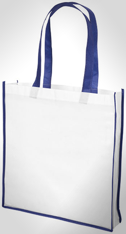 Contrast Large Non-Woven Shopping Tote Bag thumbnail