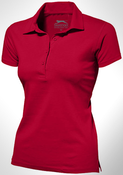 Let Short Sleeve Women's Jersey Polo thumbnail
