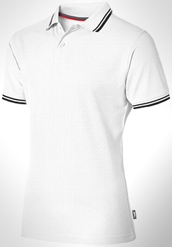 Deuce Short Sleeve Men's Polo With Tipping thumbnail