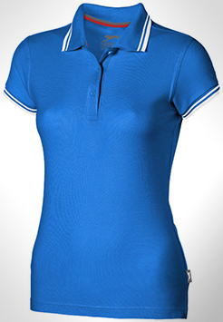 Deuce Short Sleeve Women's Polo With Tipping thumbnail