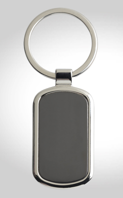 Keytag Rectangular Key Ring thumbnail
