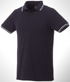 Fairfield Short Sleeve Men's Polo With Tipping thumbnail