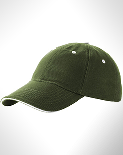Brent 6 Panel Sandwich Cap thumbnail