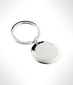 Pebble Metal Keyrings thumbnail