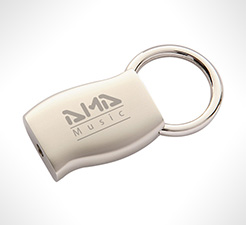 Zenith Wave Metal Keyrings thumbnail