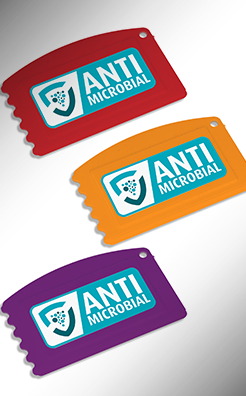 Antimicrobial Credit Card Ice Scraper - Colour thumbnail