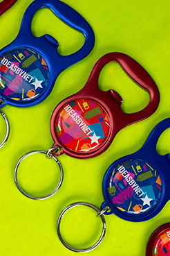 Smile Bottle Opener Keyring thumbnail