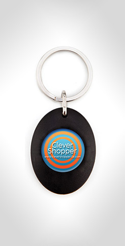 Sweep Trolley Keyring thumbnail