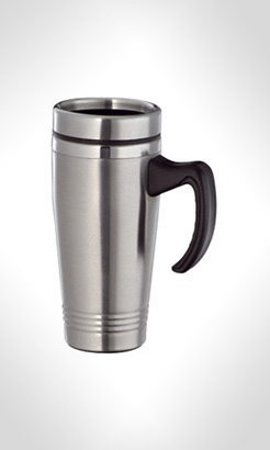 Lincoln Stainless Steel Travel Mugs thumbnail
