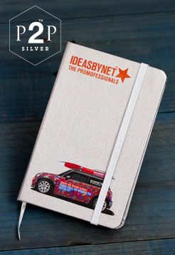 P2P Silver Pocket Notebook image