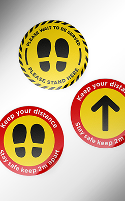 Safe Distance Floor Graphics thumbnail
