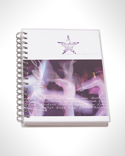 A6 Wire Bound Note Pads With Polypropylene Cover thumbnail