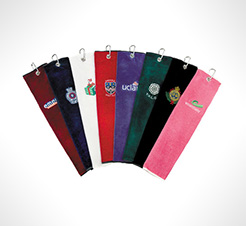 Luxury Velour Tri-Fold Golf Towels thumbnail