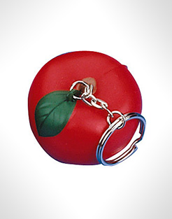 Apple Keyring Stress Toys thumbnail