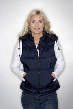 Full Colour B & C City Chic Hooded Bodywarmer thumbnail