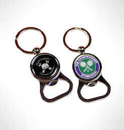Brewski Domed Keyring Bottle Opener thumbnail