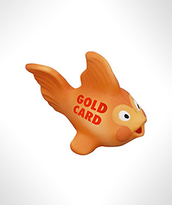 Gold Fish Stress Toys thumbnail