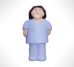 Female Nurse Stress Toys thumbnail