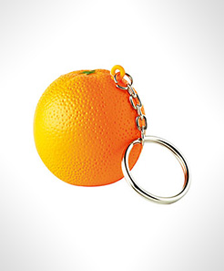 Orange Keyring Stress Toys thumbnail
