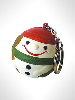 Snowman Stress Toy Keyrings thumbnail