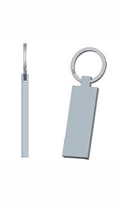 Jupiter Rectangular Keyring thumbnail