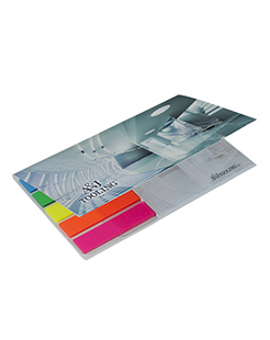 BIC 75 mm x 75 mm Adhesive Notepad with Flag Booklet thumbnail
