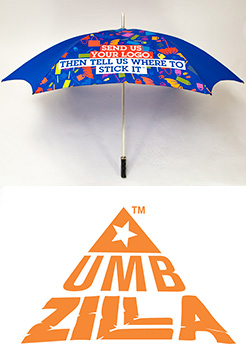 Umbzilla Golf Umbrella thumbnail